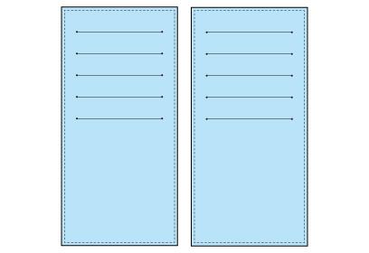 インナーカードケース(カードホルダー)は両面印刷可能です。