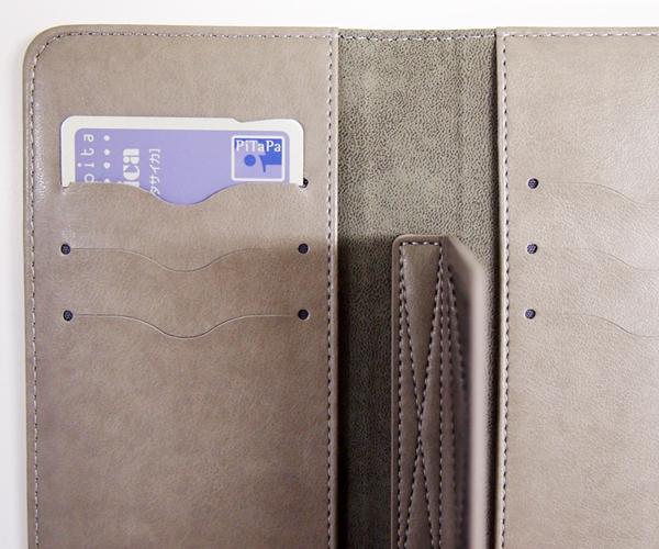 便利な大容量カード収納&保護