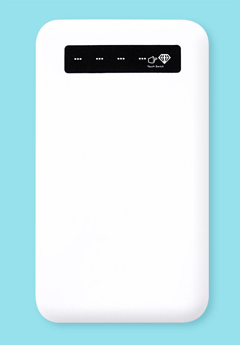 簡単でスリムなLEDインジケーターモバイルバッテリー