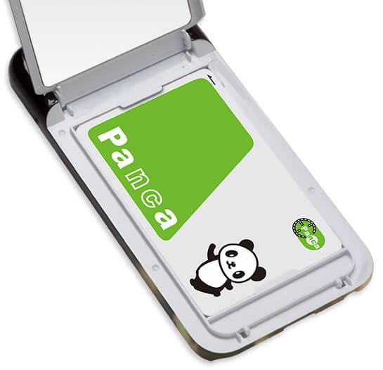 通勤・通学に便利なICカードも収納頂けます