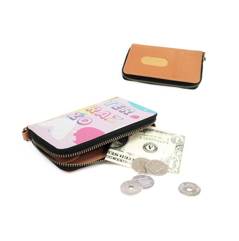 コイン・パスケースのオリジナル制作。1個からオリジナルのコイン・パスケースを作成可能。ME-Q(メーク)