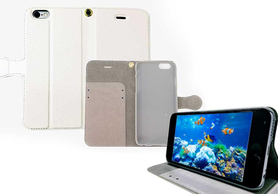 「ハイクオリティー手帳型ケース(スタンド機能付)iPhone6/6s」の販売終了のお知らせの写真