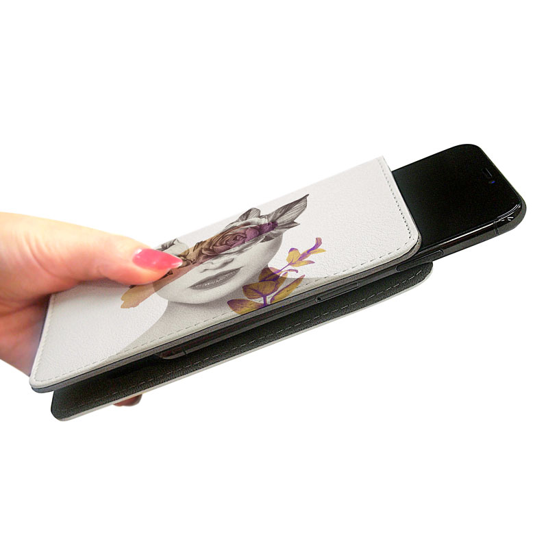スライド式タイプ(ベルト無し)のマルチ対応スマホケースのオリジナル印刷・プリント