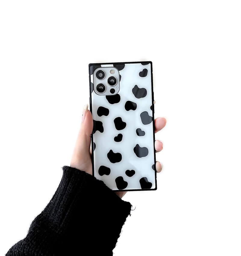 スクエア型iPhoneケース。オリジナル強化ガラスケース製作・プリント|1個から格安!オリジナルのスクエアiPhoneケース作成ならME-Q(メーク)