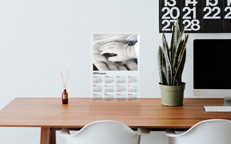 オリジナルアクリルカレンダー