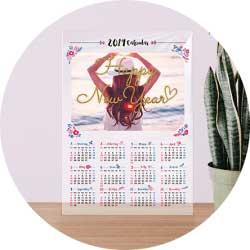 アクリルカレンダー