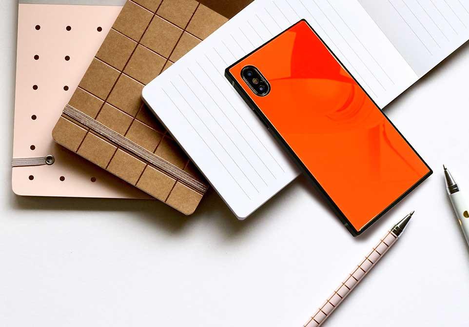 新型iPhone XS対応開始!インスタ映えするスクエア型のiPhone用オリジナルケースのご紹介