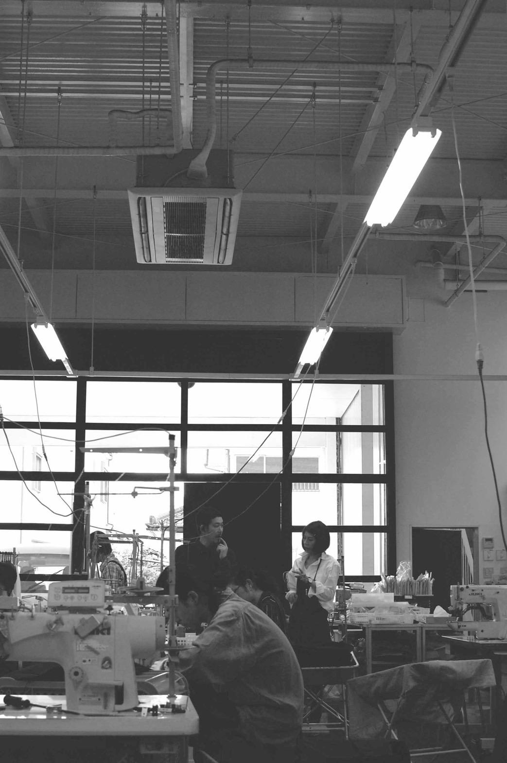 縫製は国内工場で作成しています