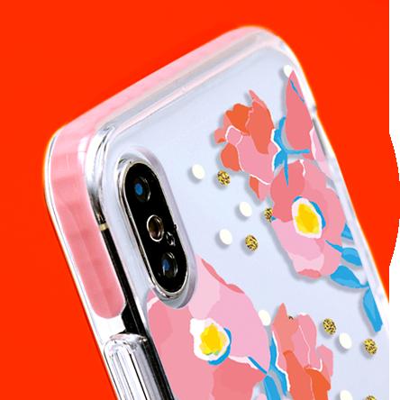 クッションバンパーケース(iPhone専用ケース)