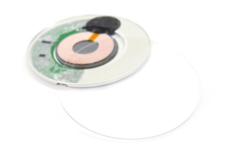 オリジナルサークル型Qiワイヤレス充電器を1個から作成・印刷️