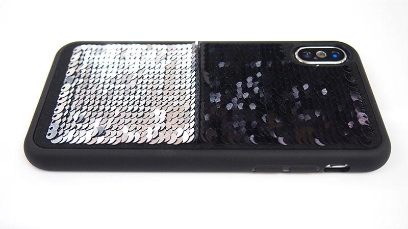 Black × Silver(表面ブラック・印刷面)
