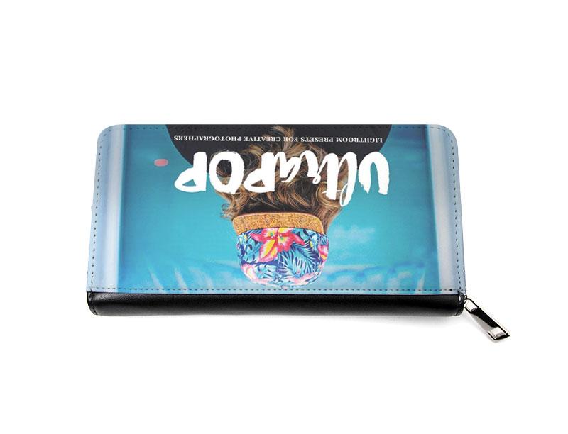 PUレザーのオリジナル財布をオリジナル作成。1個から作成OK。