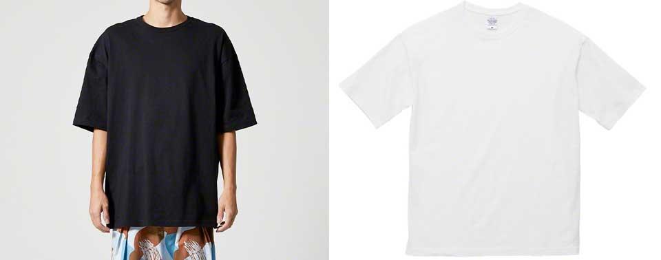 ビッグシルエットTシャツ5508-01