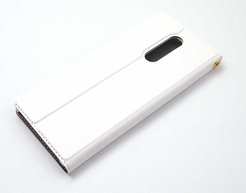 Xperia1の手帳ケース|帯なし(スタンド機能付)のオリジナルXperia1手帳型がME-Qから登場!の写真