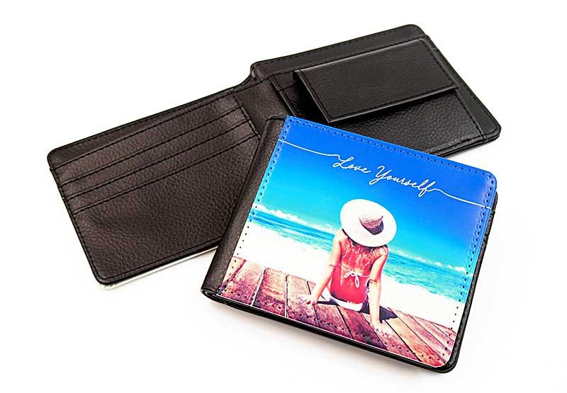 二つ折り財布のオリジナル印刷・プリント