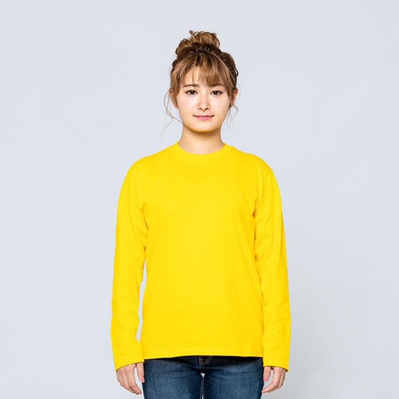 1枚から注文OK!フルシーズン使いやすい人気定番のロングTシャツ。オリジナルTシャツのデザインをオーダーできるME-Q