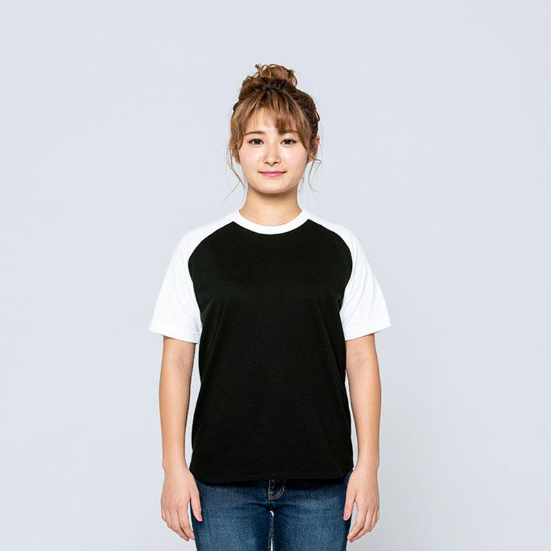 1枚から注文OK!定番ラグランTシャツをアクティブに再設計した新定番!オリジナルTシャツのデザインをオーダーできるME-Q