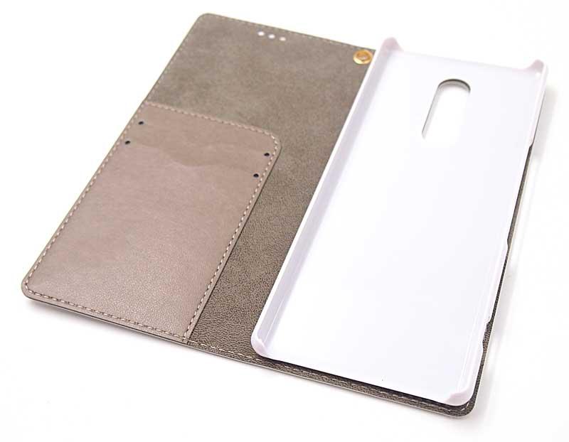 Xperia1の手帳ケース|中面