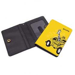 二つ折りパスケース(カードケース印刷)