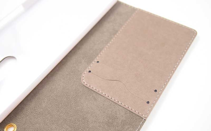 Xperia1の手帳ケース|ポケット