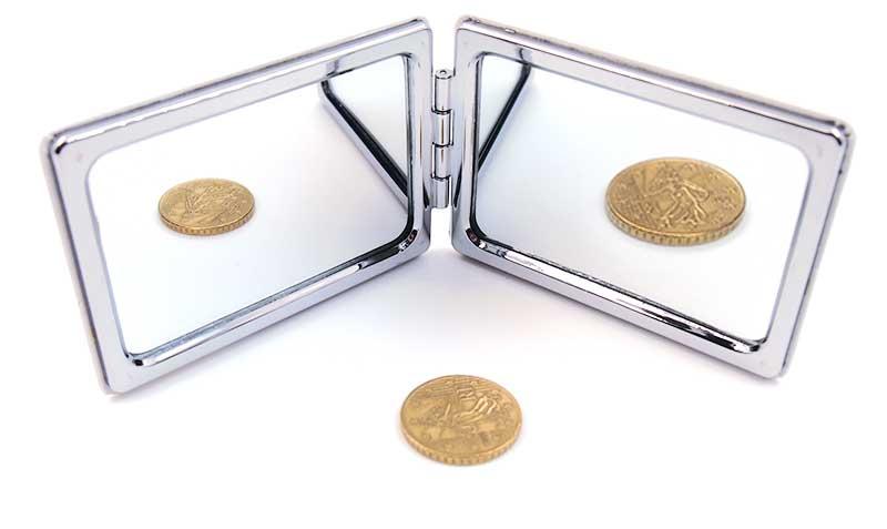 両面鏡タイプのオリジナルミラー