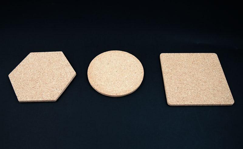全3種類のオリジナルコルクコースター