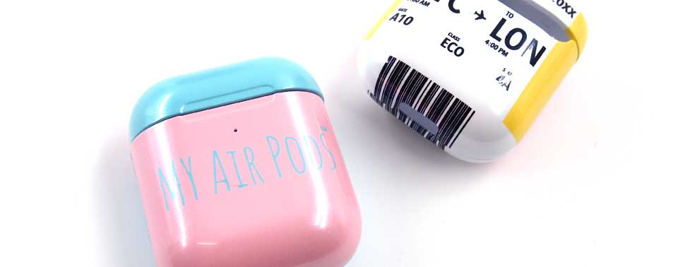 AirPodsケース(3D全面印刷)