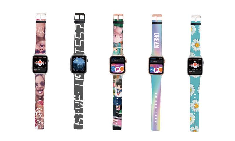 Apple Watch(アップルウォッチ)のオリジナルバンド・ベルトの印刷