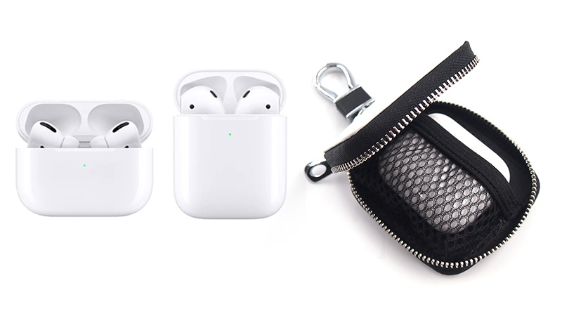 AirPods(第1世代・第2世代)とAirPods Proも使える兼用ケース