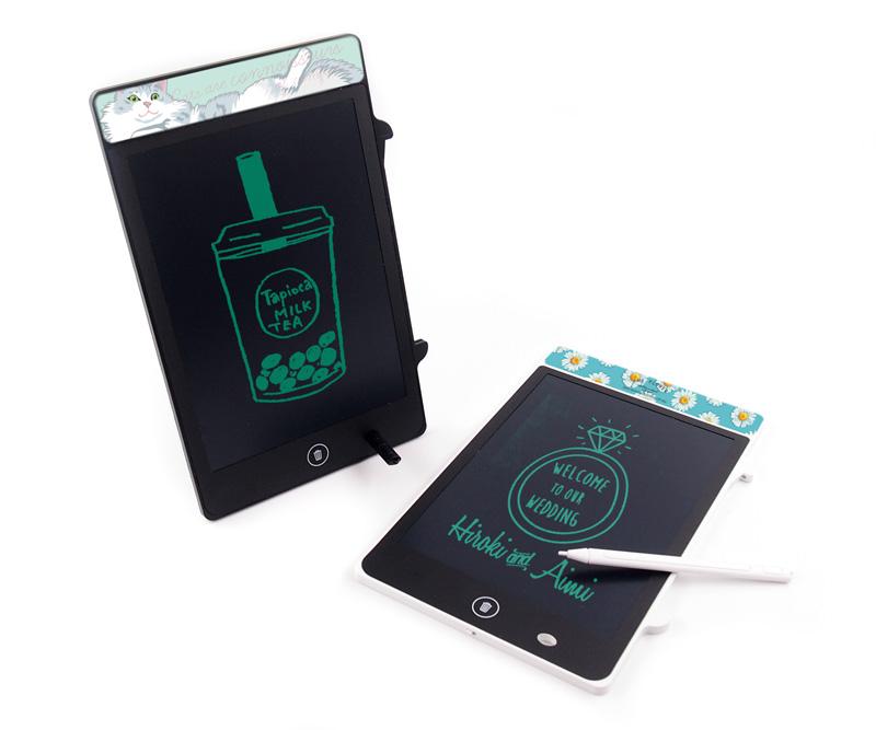 電子ノート(メモパッド)の名入れ・販促ノベルティを1個から作成可能|オリジナルの電子メモ作るならME-Q(メーク)