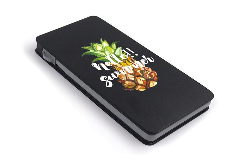 ブラックのモバイルバッテリーで印刷したい方へ