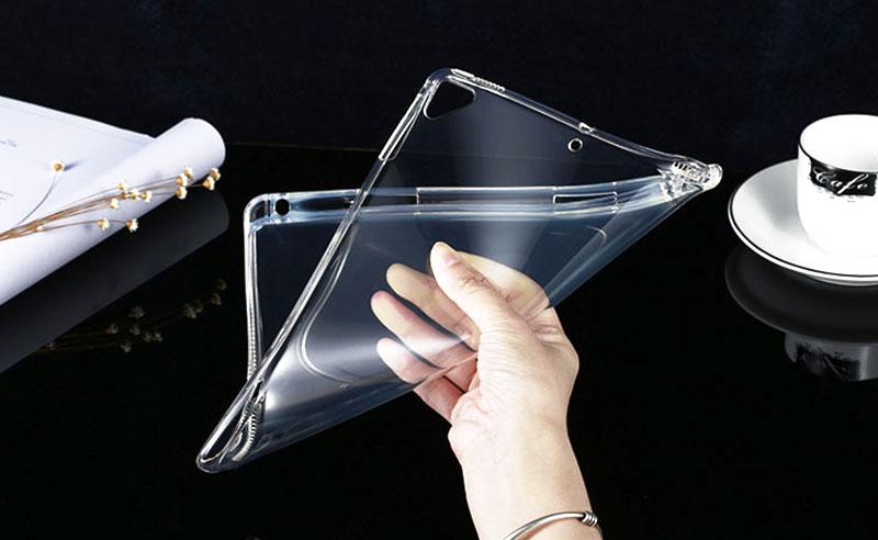 落下・キズ・汚れ防止になる衝撃吸収iPadクリアケース