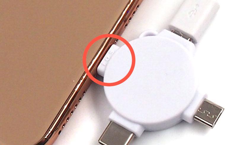 [注意]iPhone接続の際は逆(ios)で!