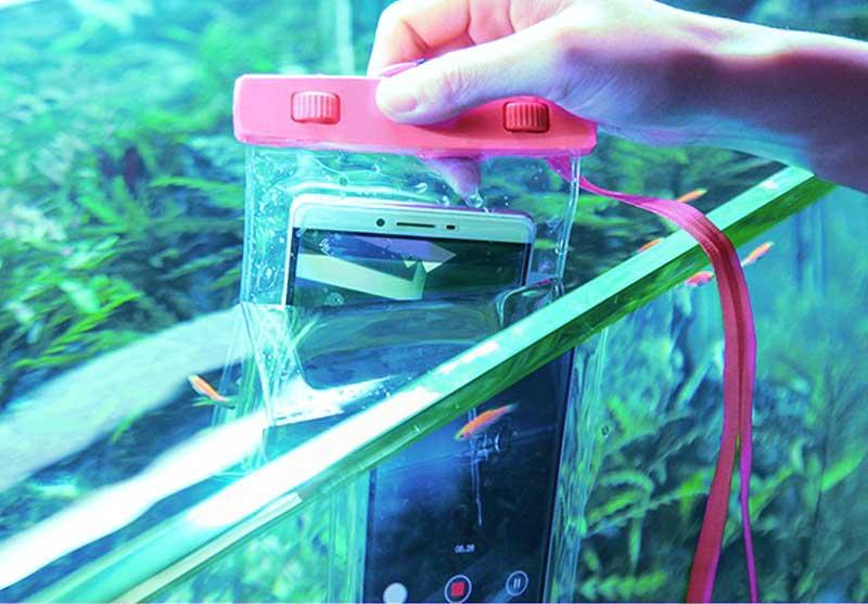 完全防水!防水レベル最高水準IPX8取得