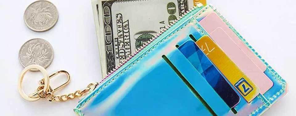 オーロラミニ財布