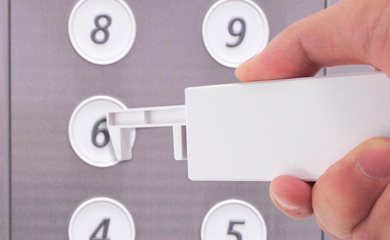 ボタンやドアノブを間接的に押せる感染症対策アイテム
