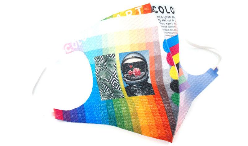 PRグッズとしてインパクト大!スポーツイベントや企業・お店ロゴ入りグッズに最適なマスク