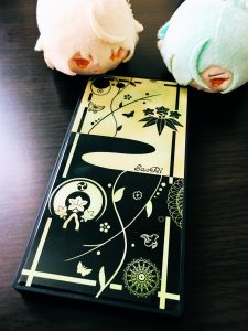 源氏兄弟モデルで新作完成髭膝の紋と双騎のモチーフを描いてみました〜!いかがでしょうか?^^*