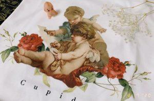 天使好きな友人の誕生日祝いに、Tシャツをデザインしてプレゼントしました可愛いすぎて自分でも買っちゃった....
