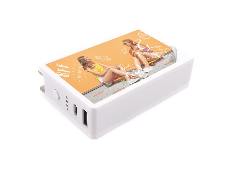 AC充電器&モバイルバッテリー6000mAh