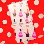 スマホケースやっと届いた大好きなミニーちゃんのイチオシ衣装をマニキュアボトルっぽくデザインしてみたさて、なんの衣装でしょう(*´∇`*)←ちなみにme-qさん(@meq_jp)で作りました( ˘ω˘ )