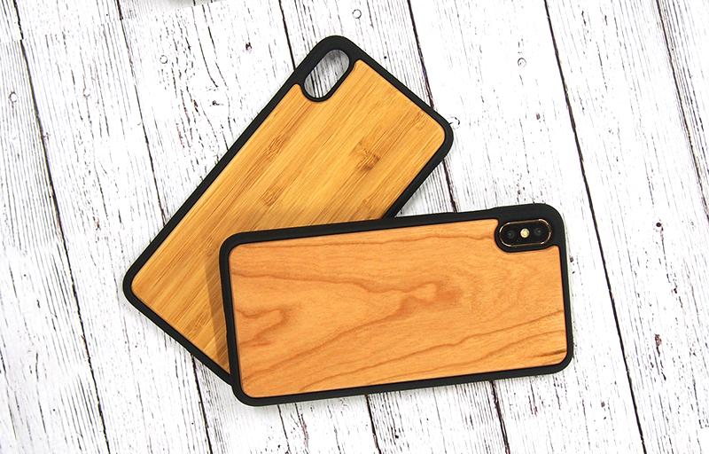 iPhoneXR・iPhoneXS Max用ウッドケースが特別価格