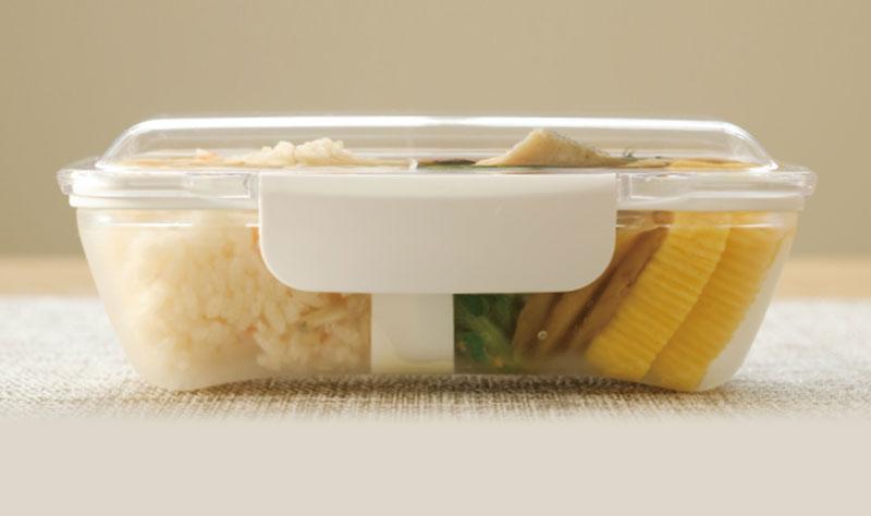 お料理をふんわり盛り付けられるドーム型お弁当箱