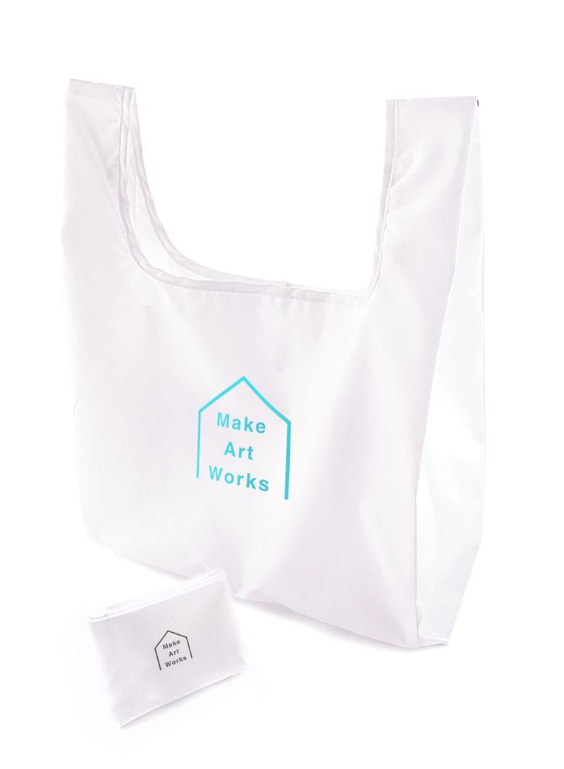 【業界最安】エコバックのオリジナルプリント・名入れ印刷を1個から作成|レジ袋やレジバッグに使えるポリエステル素材のオリジナルエコバックを簡単に作れるME-Q(メーク)