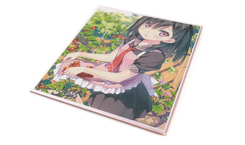 1枚からフルカラー印刷できる色紙印刷・プリント