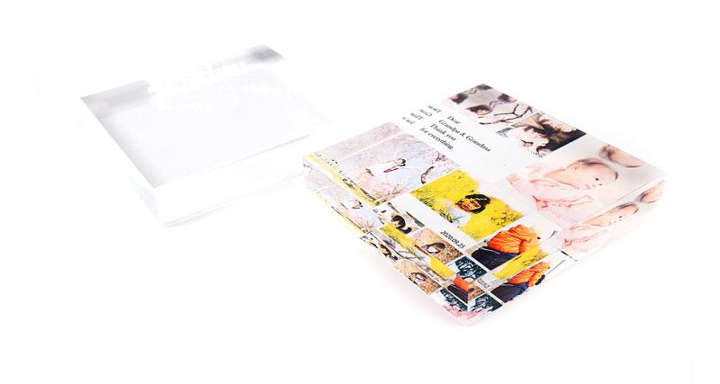 同人グッズ・お子様や家族写真など記念品フォトキューブ・イラストグッズ