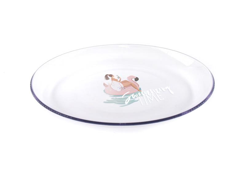 オリジナルのプレート(皿)を1個からオリジナル制作・印刷