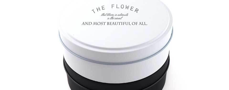 平丸缶(ホワイト・ブラック)でオリジナルグッズ作成