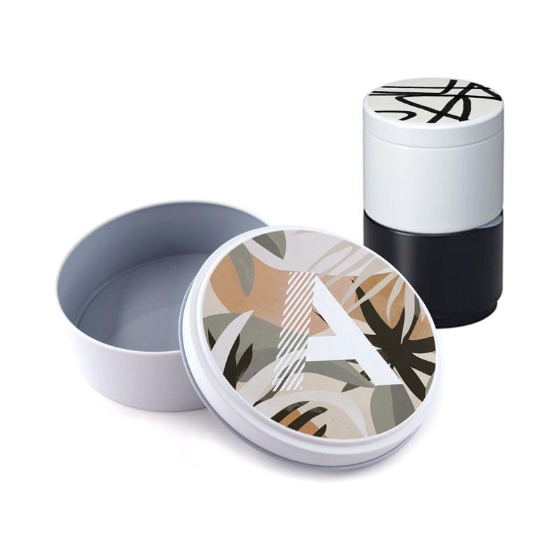 オリジナル缶ケースを小ロット1個から作成可能なME-Q