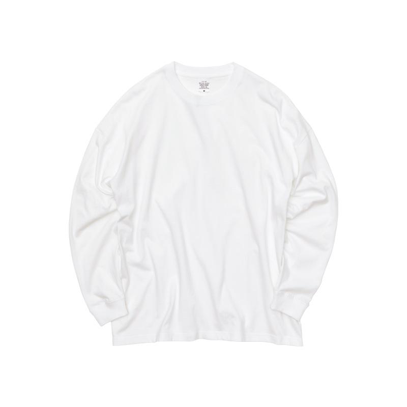 ビッグシルエット長袖Tシャツ 5509-01のオリジナルデザイン